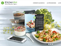 Site web - Kitchendiet